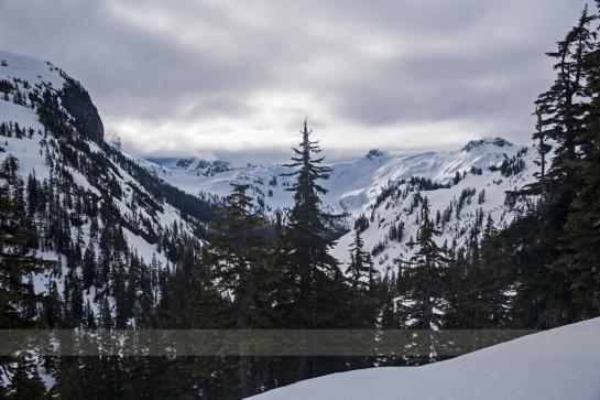 6am In The Mount Baker Ski Area Parking Lot