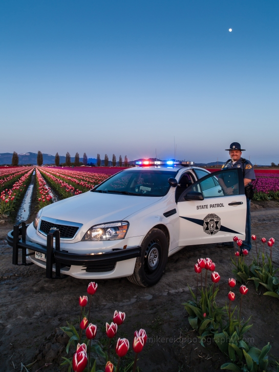 So the Washington State Patrol Shows Up...
