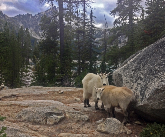 Hiking into the Enchantments