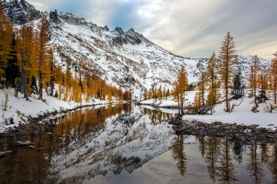 Enchantments - Learning to Love the Snow Lakes Approach.
