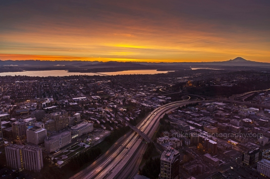 Columbia Center Seattle Sunrise