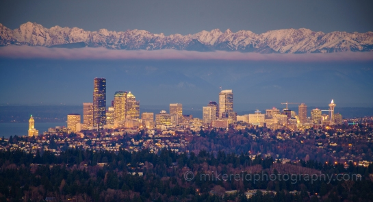 Seattle from Somerset.  Zeiss 300mm
