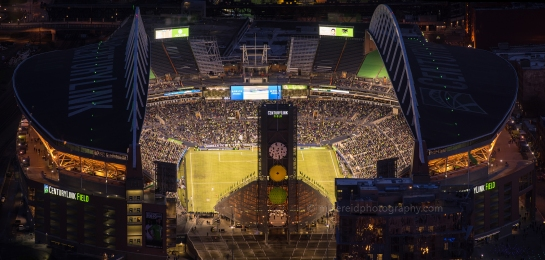 Sounders Century Field Match