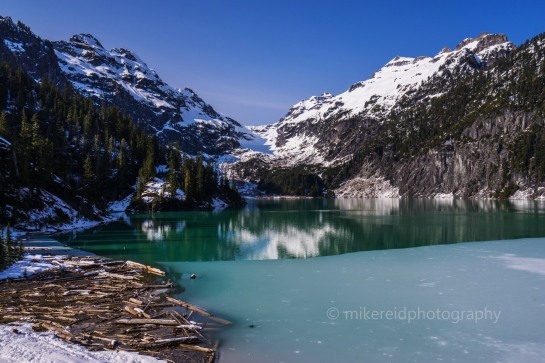 Blanca Lake Washington Cascades