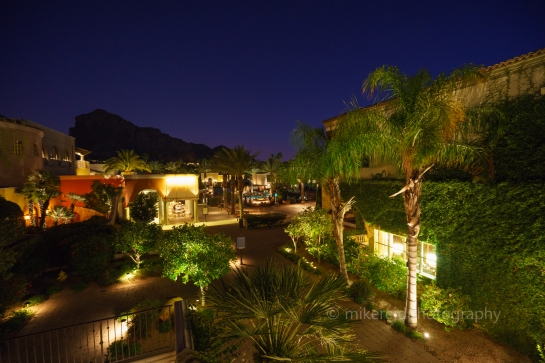 Omni Montelucia Hotel Courtyard