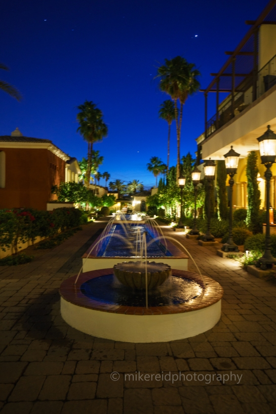 Omni Montelucia Hotel Courtyard Fountain