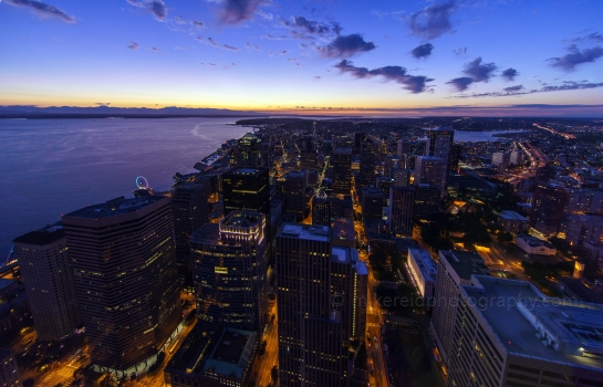 11mm Seattle from the Sky View Observatory