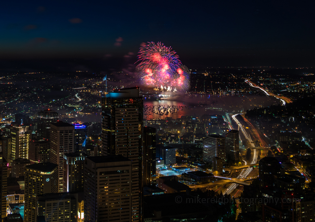 Sky View Observatory Seattle Fourth of July Fireworks