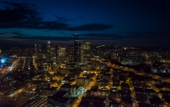 aerial, seattle, a7s