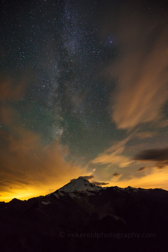 Mount Baker Milky Way