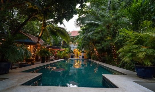 The Pavilion hotel in Phnom Penh