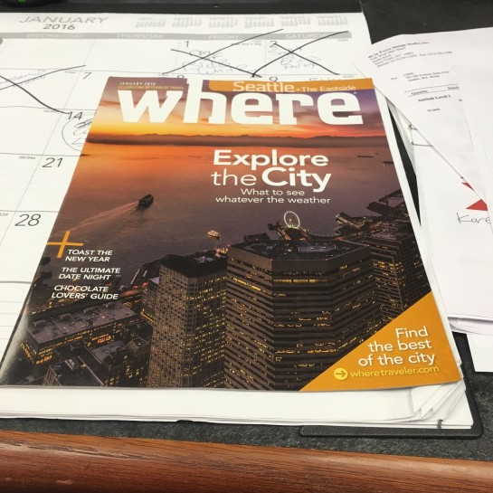 where seattle magazine cover photography sky view observatory mike reid