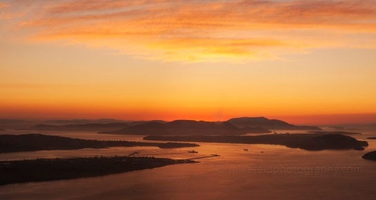 Anacortes at Sunset