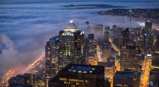 Seattle Fog Moves In
