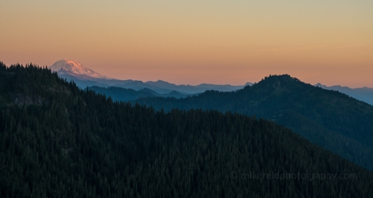 Mount Adams Alpenglow