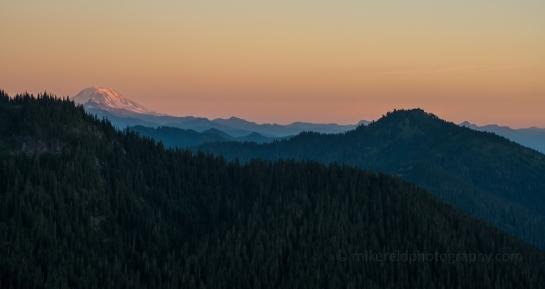 Mount Adams Alpenglow