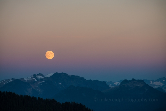 North Cascades Moonrise