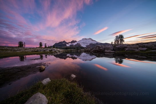 Park Butte Mount Baker Reflection Sunrise