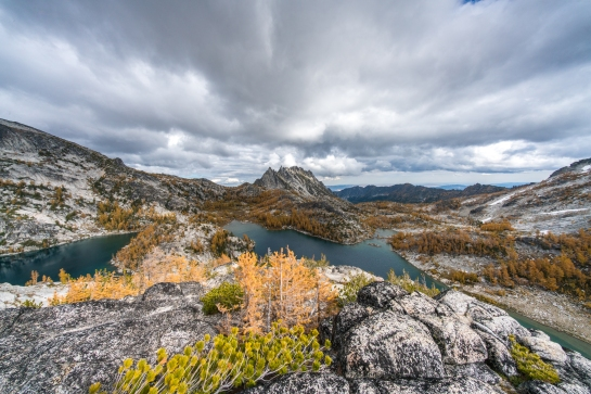Voigtlander 10mm Enchantments Fall Colors Larches Photography and Hiking