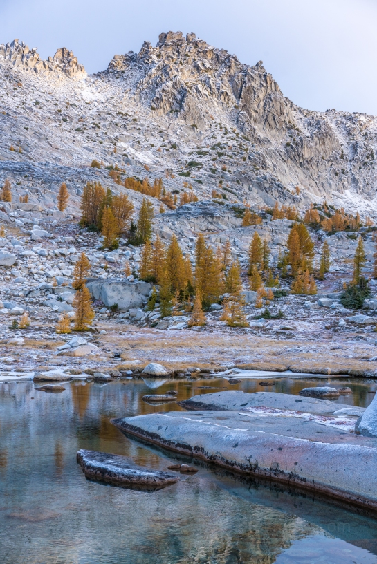 Enchantments Fall Colors Larches Photography and Hiking