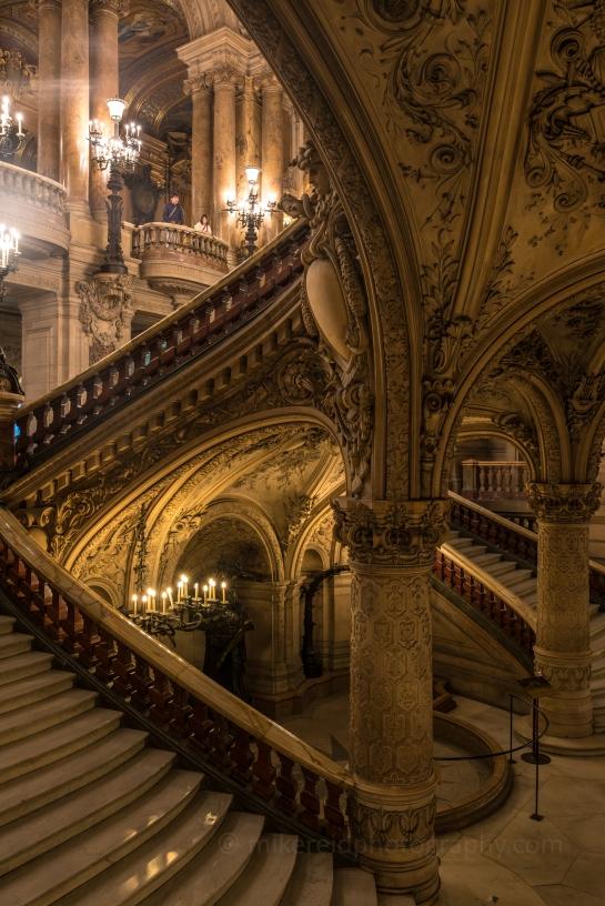 Paris Palais Garnier Opera House Stairwells Zeiss 28mm Otus