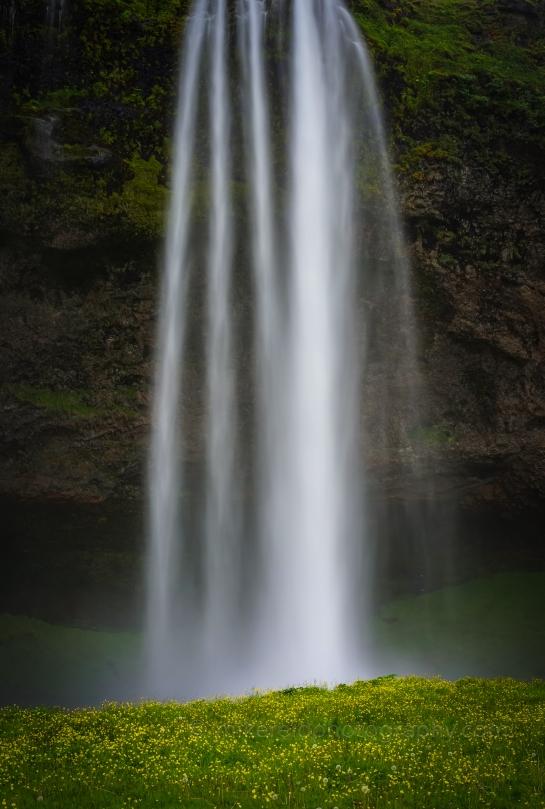 Seljalandsfoss falls iceland waterfall