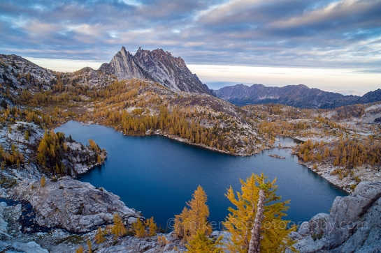 Enchantments Prusik Peak Perfection Lake View