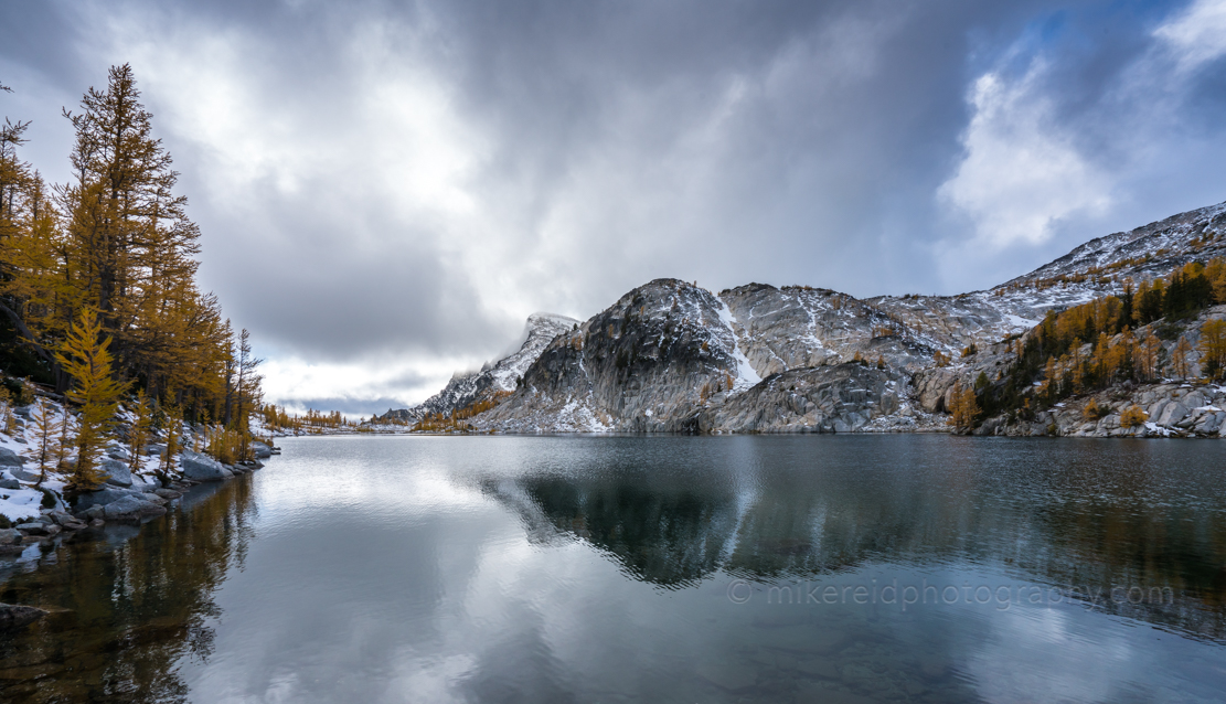 Enchantments Perfection Lake Right Before the Snow Rolled In. Sony a7r2 and Zeiss 16-35/4