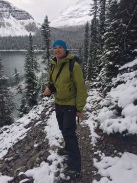 "Hiking to Oesa Lake Above Lake O""Hara"