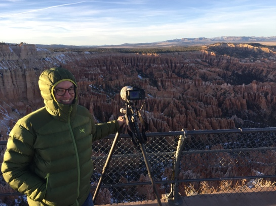 Bryce Canyon Cold Morning at the Lookout