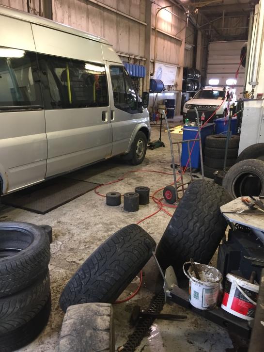 Iceland Tire Repair Hofn
