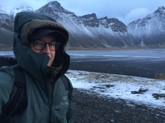 Iceland Stokksnes Morning Hailstorm Arcteryx