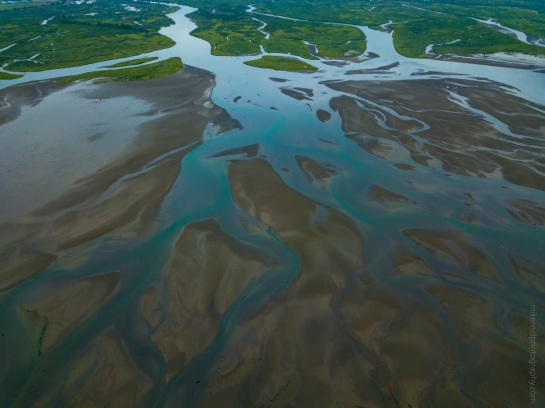 Tideflats Colors Aerial Photography DJI Mavic Pro