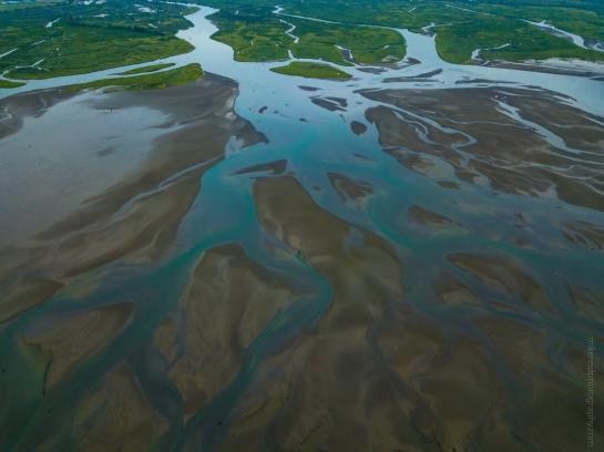 Tideflats Colors Aerial Photography DJI Mavic Pro