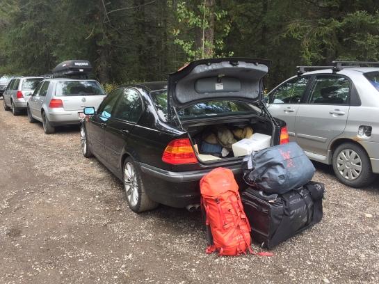 banff, lake ohara, camping, gear