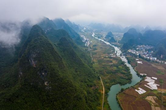 DJI Mavic Pro 2 Drone Photography Yangshuo China