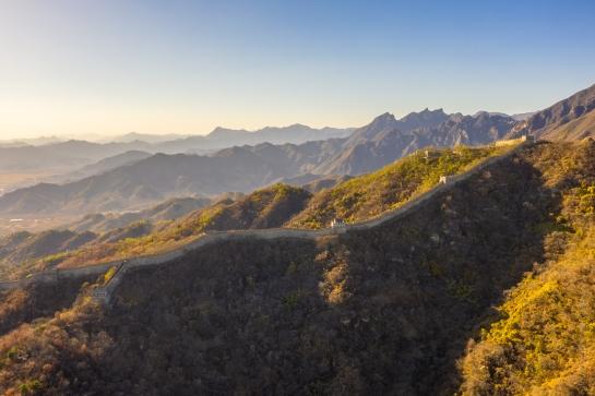 DJI Mavic Pro 2 Drone Photography Great Wall Mutianyu Section