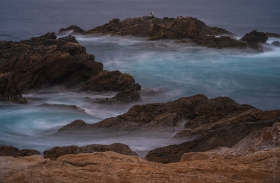 Big Sur Wave Motion At Point Lobos - Zeiss 100-300mm on Fuji GFX50s