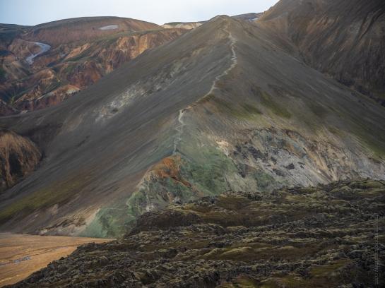 Landmannlaugar Iceland Blue Mountain Fuji GFX50s