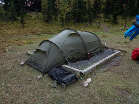 Our Fjallraven Tent Ready for Anything